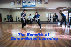 """Game-Based Learning"" In Our Youth Kung Fu"