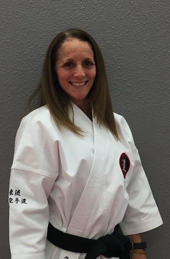 Christy Odum in Juneau - Juneau Karate Academy