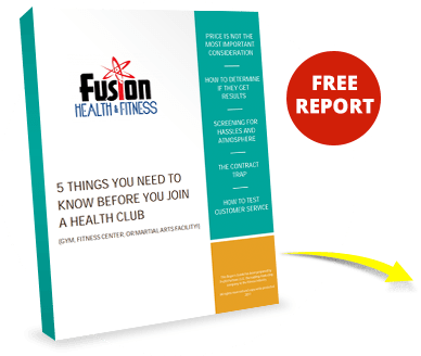 Personal Training in Archbold Free Report - Fusion Health & Fitness