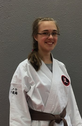 Ms. Emily Parker Jr. in Juneau - Juneau Karate Academy