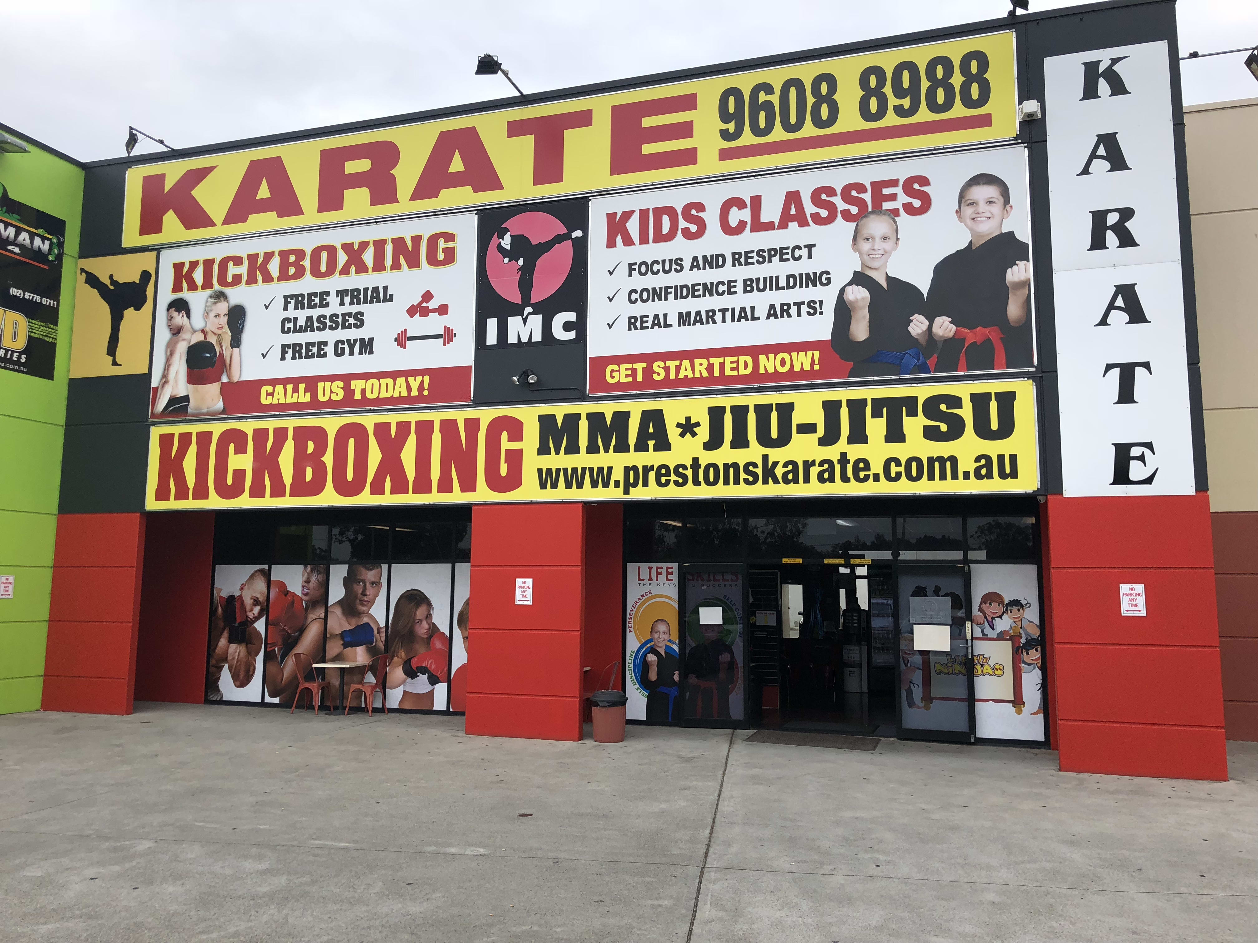 Kids Karate near Prestons and Liverpool