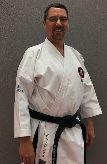 Mr. Greg Smith in Juneau - Juneau Karate Academy