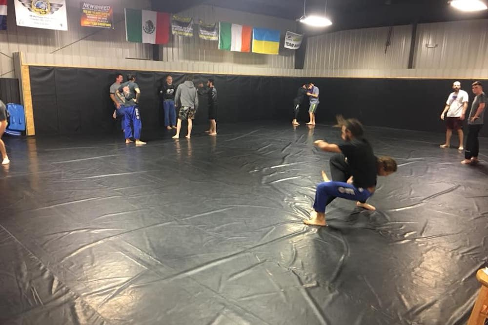Grappling near Asheville