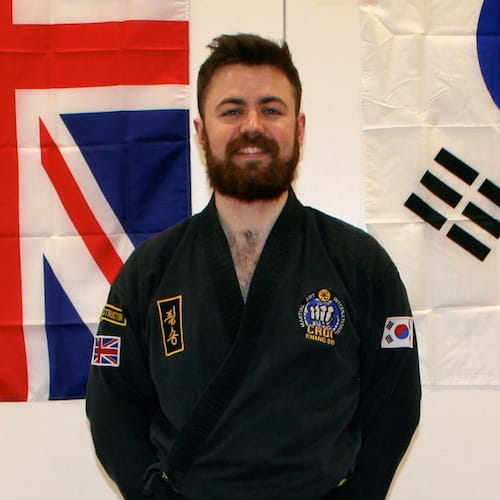 Mr. Adam Jones in Teddington - Clarke School of Choi Kwang Do