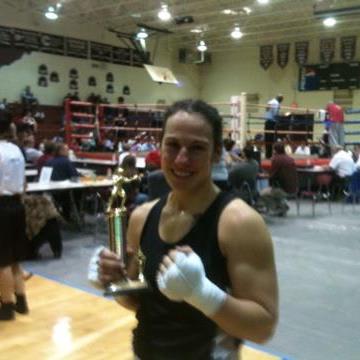 Lissa Keppner (Braverman) in Athens - Keppner Boxing