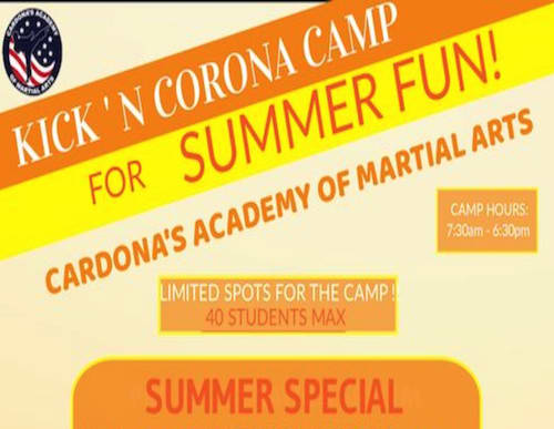 martial arts summer camp near delray beach