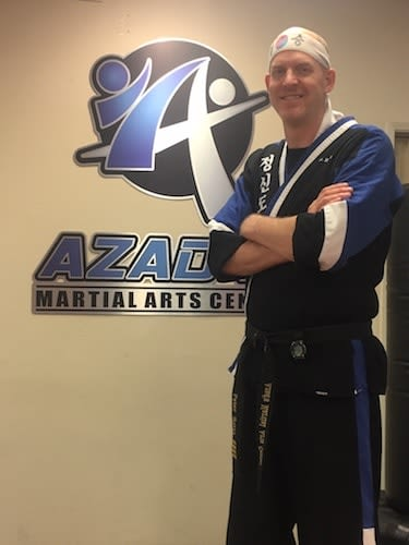 Mr. Reitz in Chico - Azad's Martial Arts Center
