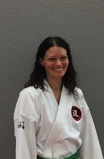 Rebecca Daniels in Juneau - Juneau Karate Academy