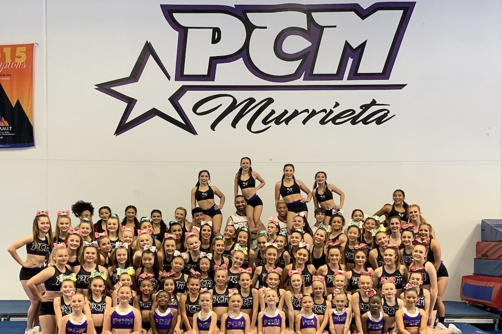 Competitive Cheerleading near Murrieta