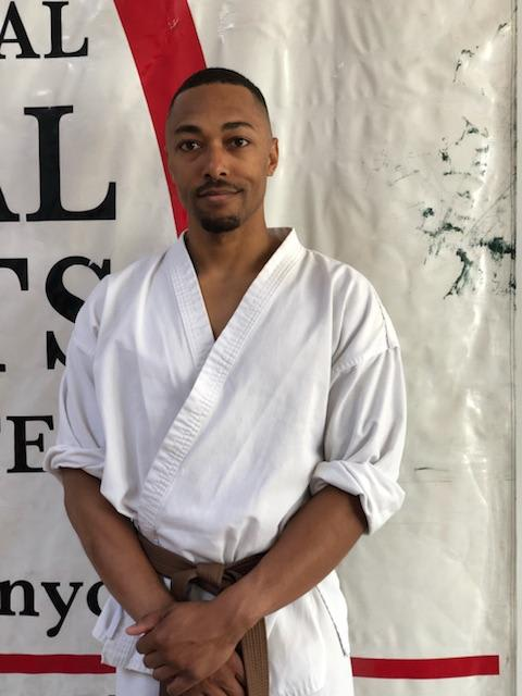 Robert Walker in Midtown Manhattan - International Martial Arts Center