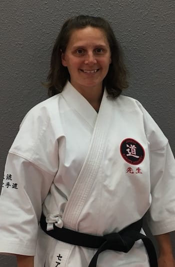 Mrs. Sarah Young in Juneau - Juneau Karate Academy