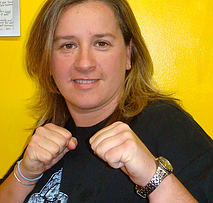 Shawna in Johnston - Rondeau's Kickboxing