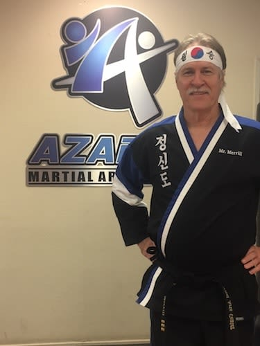 Mr. Merrill in Chico - Azad's Martial Arts Center