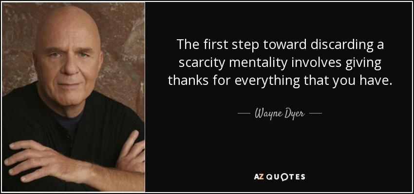 abundance mentality quotes