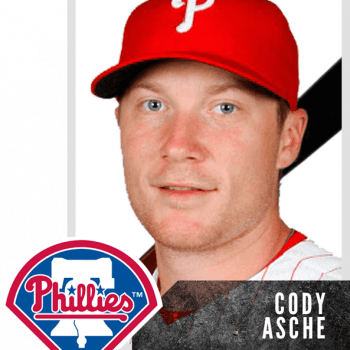 Rick Strickland Baseball Cody Asche- Philadelphia Phillies