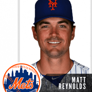 Matt Reynolds- New York Mets, Rick Strickland Baseball Testimonials