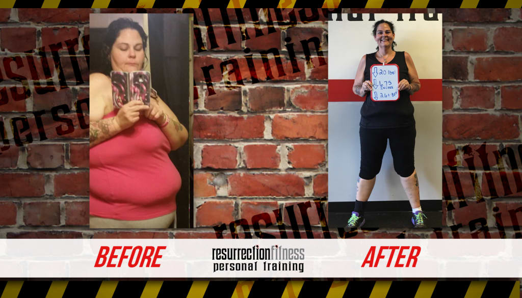 Evelyn, Resurrection Fitness Testimonials