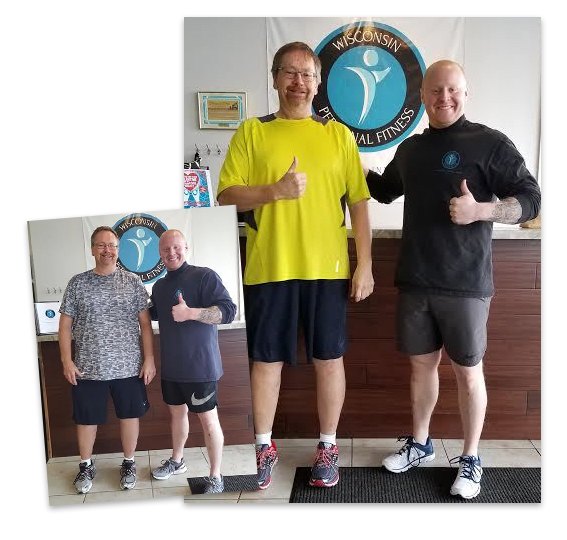 Brian, Wisconsin Personal Fitness Testimonials