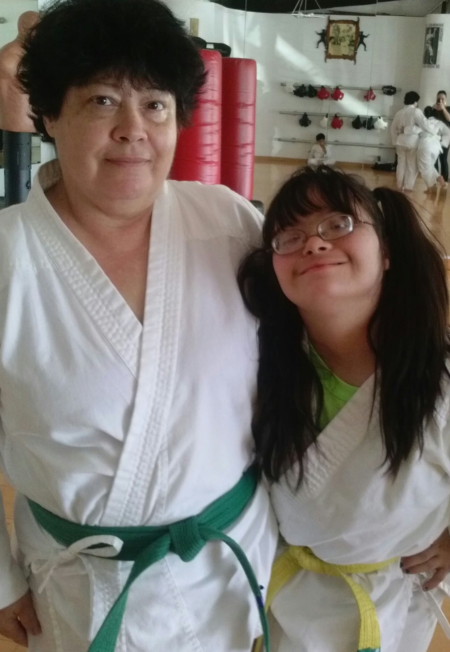 Sherry and Johanna, Traditional Taekwon-Do Center Of Davie Testimonials