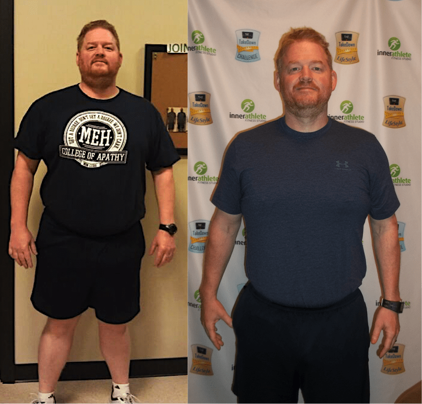 Tom Schrader, Inner Athlete Fitness Studio Testimonials