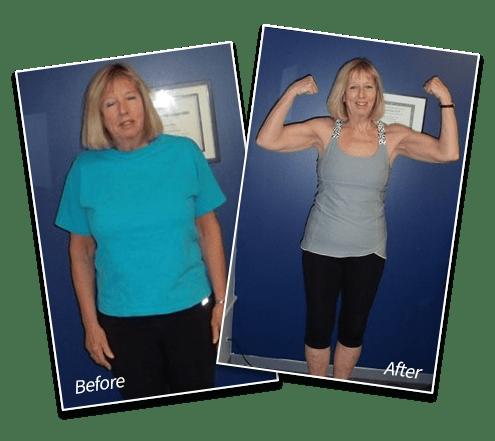 "Ellen -  Lost 32 lbs | 8"" Lost Off Waist , Spectrum Fitness Consulting Testimonials"