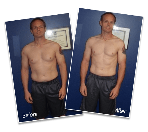 "Dave O'Shea - Lost 18 lbs of fat | Down to single digit body fat | Lost 4"" off waist, Spectrum Fitness Consulting Testimonials"