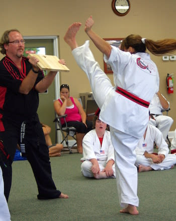 Gina G. , Ancient Ways Martial Arts Academy Testimonials