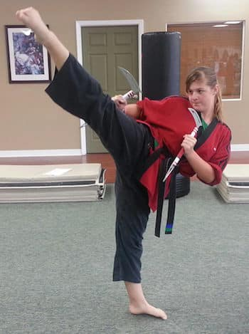 Kayla L., Ancient Ways Martial Arts Academy Testimonials