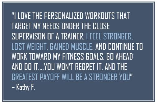 Kathy Hennegin, Spectrum Fitness Consulting Testimonials