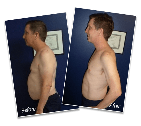 Sean C. - LOST 14 POUNDS OF FAT, LOST 4% OF BODY FAT, DECREASED LOW BACK PAIN, Spectrum Fitness Consulting Testimonials