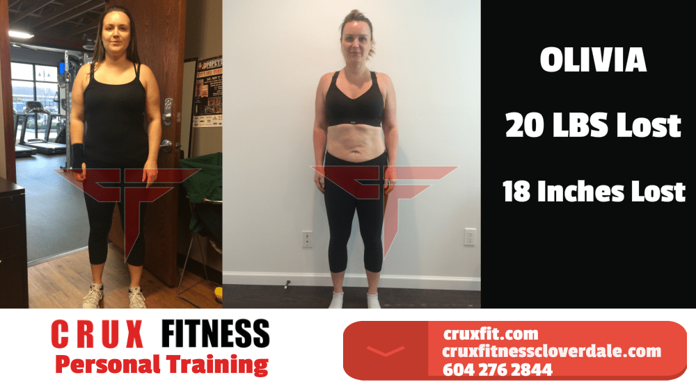 Olivia, Crux Fitness Testimonials