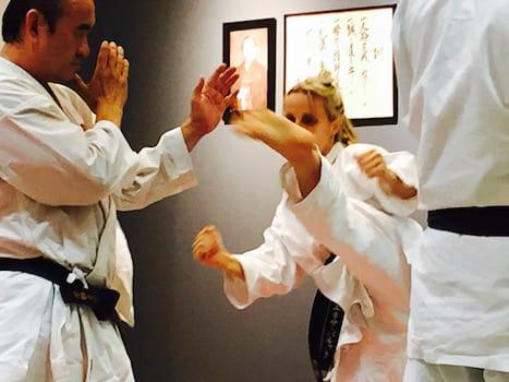 Enesa (Beba) Barut Pjano, Shotokan Karate of Arizona Testimonials