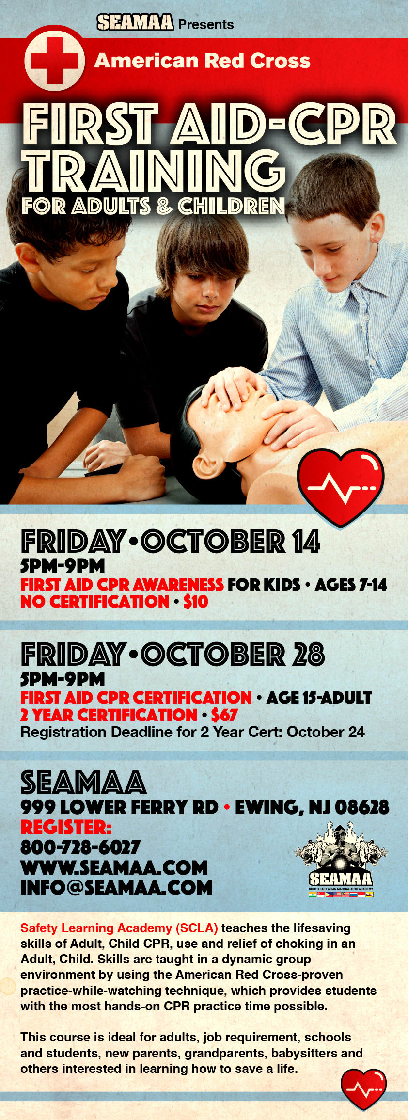 First Aid Cpr Training For Adults Children October 2016