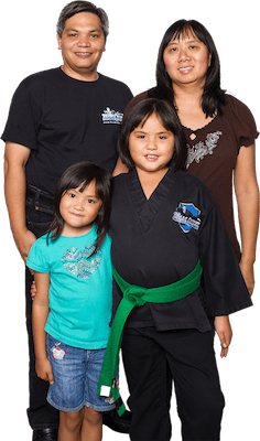The Paredes Family, Team Creek Martial Arts Testimonials
