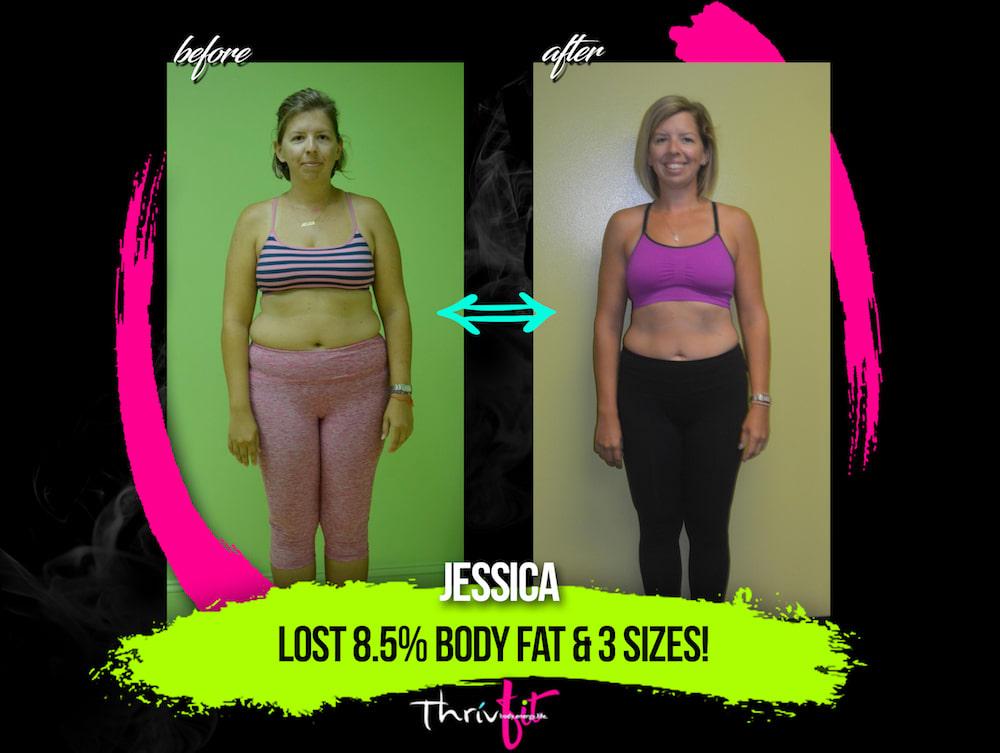 Jessica L, ThrivFIT Testimonials