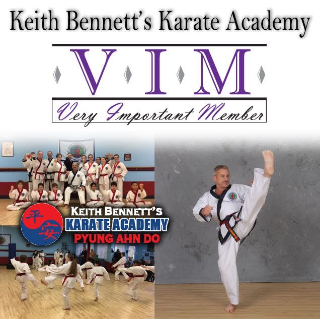 Keith Bennett's Karate Academy VIM. -Awarded April 30, 2017 by the Ulster County Regional Chamber of Commerce