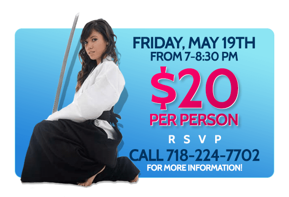 Women's Self-Defense Seminar  in Little Neck - Aikido School of Queens