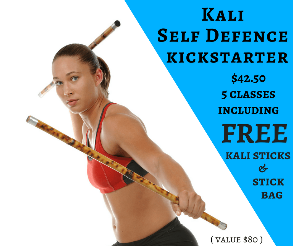 KALI SELF DEFENCE KICKSTARTER in East Victoria Park - Advanced Martial Arts & Fitness