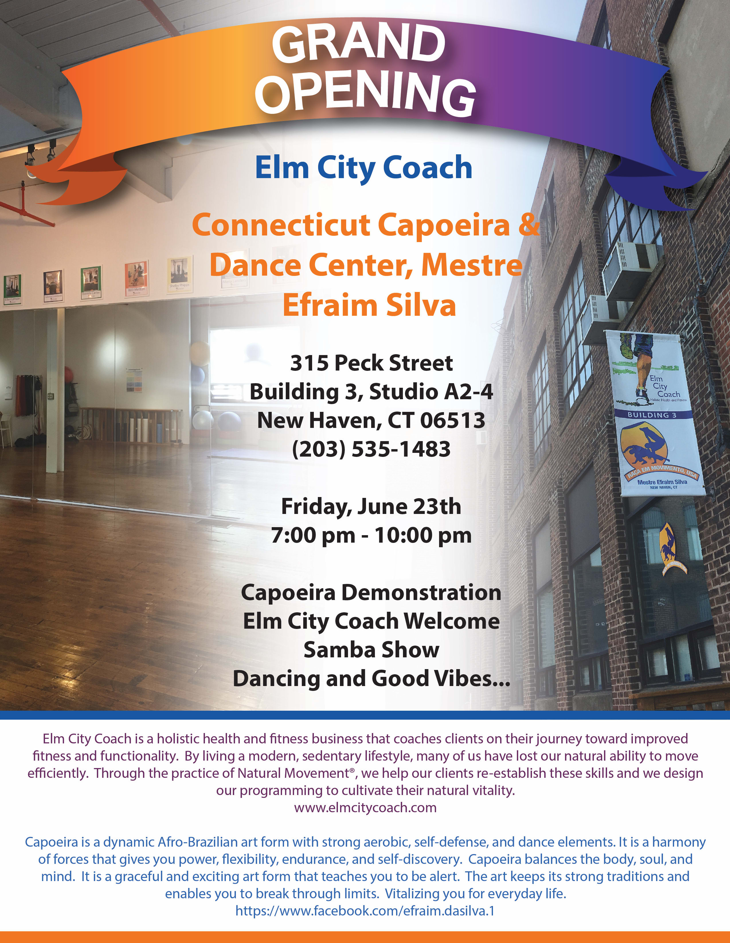 Grand Opening Celebration in New Haven - Elm City Coach