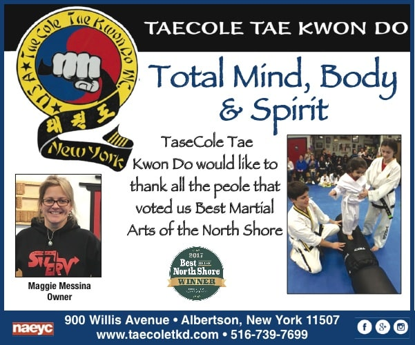 Voted Best on the North Shore 2016 and 17, Taecole Tae Kwon Do & Fitness Testimonials