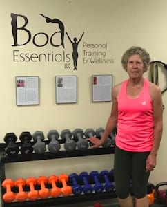 Andrea M., Body Essentials Personal Training & Wellness Testimonials