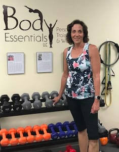 Laurie L., Body Essentials Personal Training & Wellness Testimonials