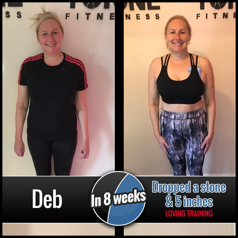 Deb, Tone Fitness testimonials