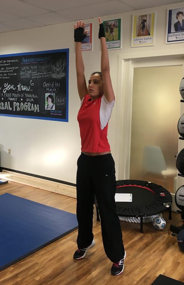 Elm City Coach Sarah Olivier