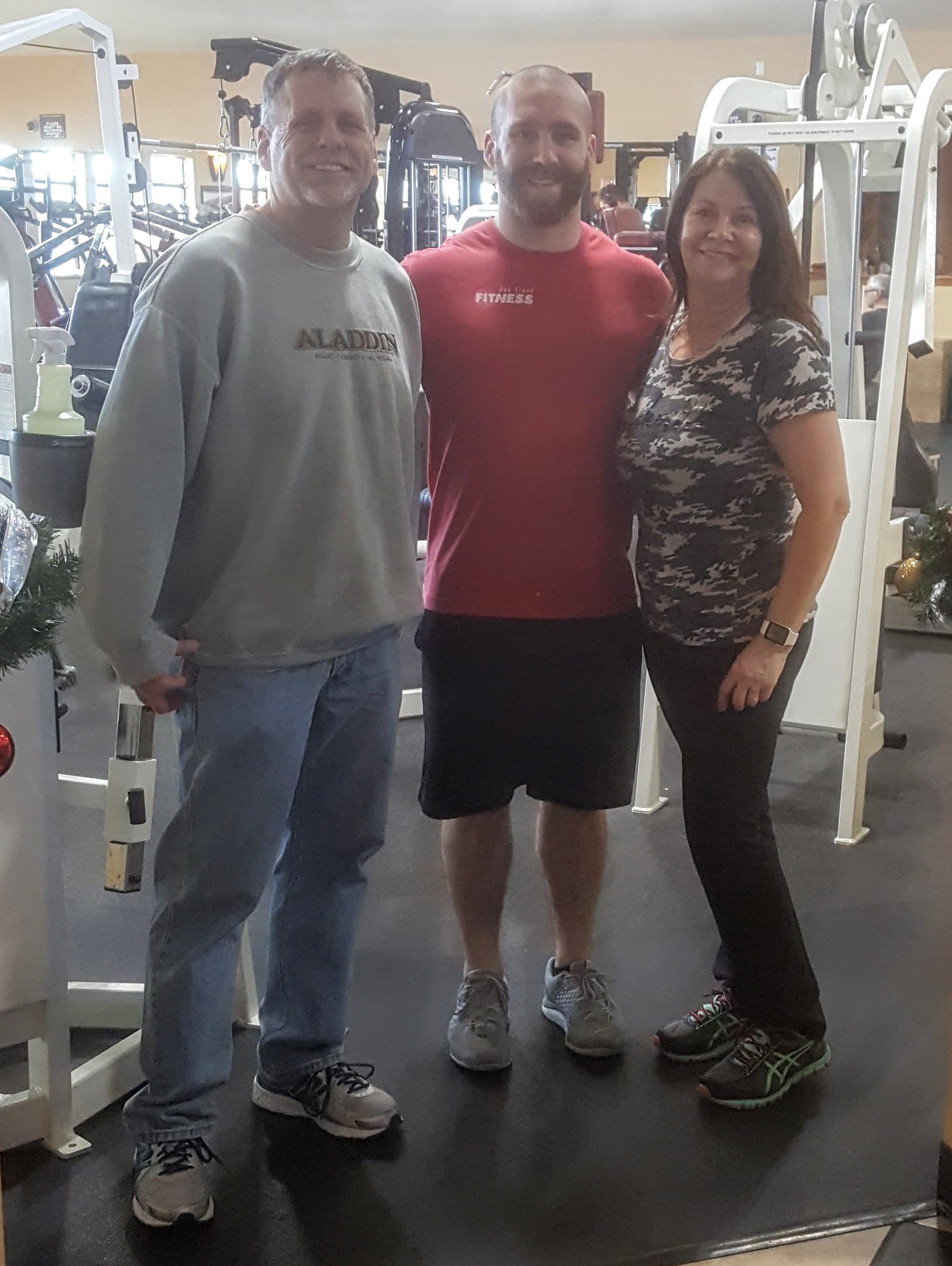 Oak Creek Fitness Jim and Lori Success
