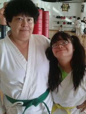 Sherry and Johanna, Traditional Taekwon-Do Center Of Davie Testimonials