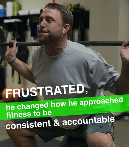Frustrated, he changed how he approached fitness to be consistent & accountable., Main Street Fitness Testimonials
