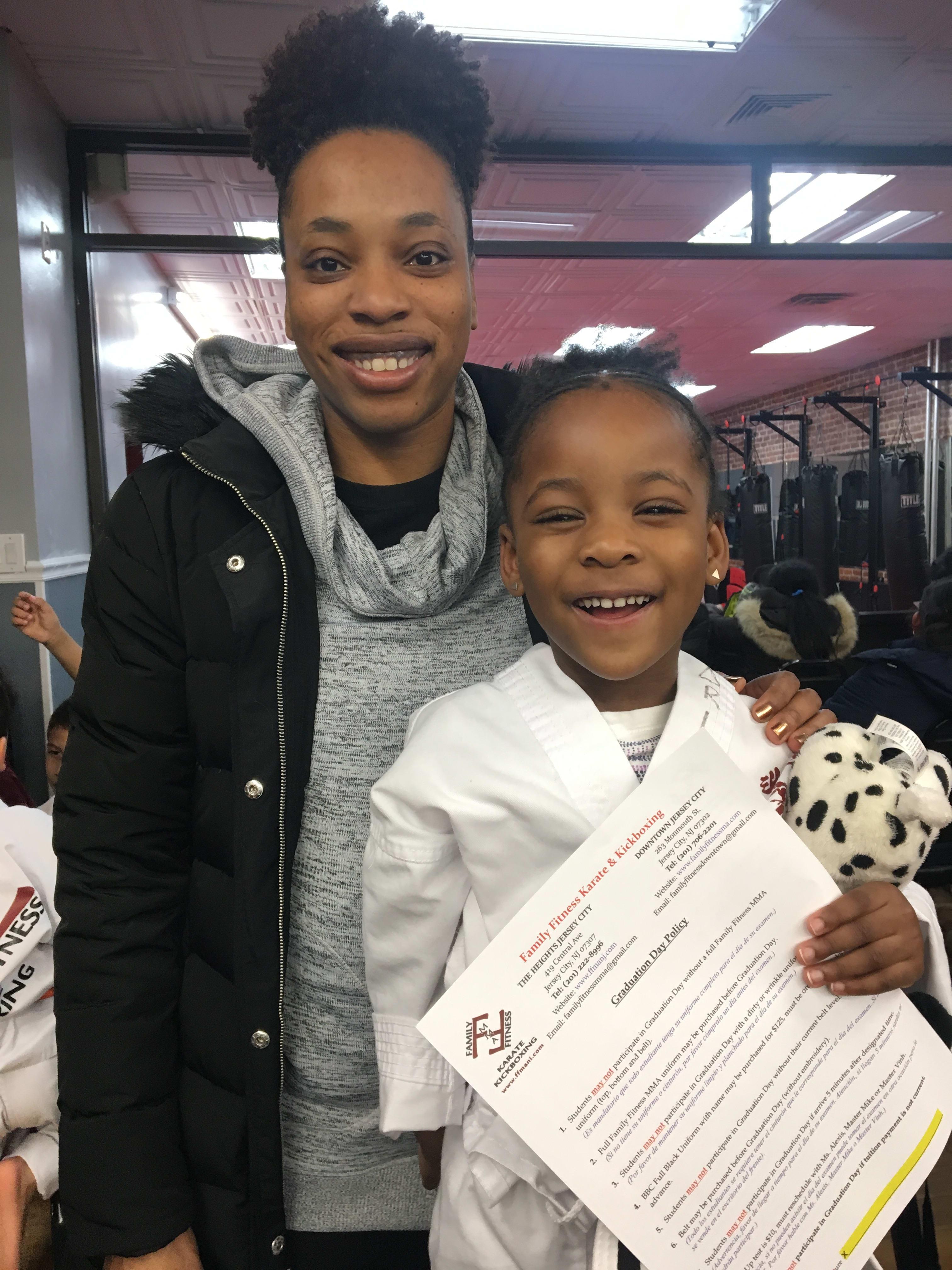 Nordia Wright, Family Fitness Karate & Kickboxing Testimonials