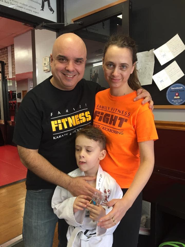 Carmit Gall, Family Fitness Karate & Kickboxing Testimonials