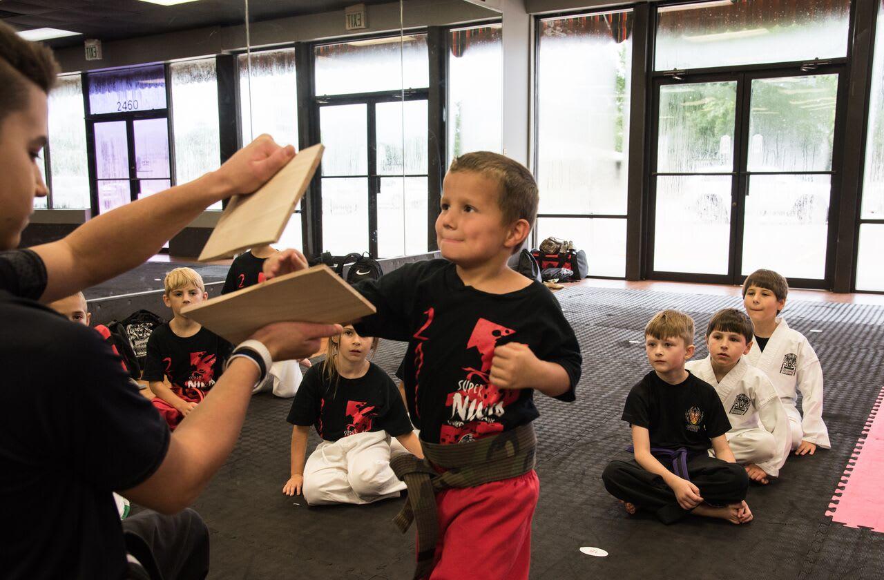 Board Breaking Event (Age 5-7)  in Layton